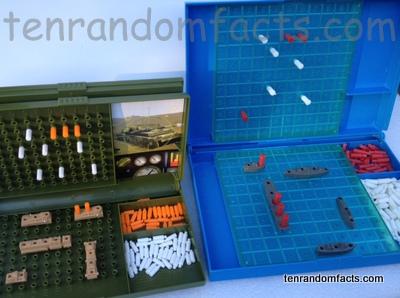 Battleships, Game, progress, Variation, Gun, Ships, Plastic, Red, Shot, Ten Random Facts, Trivia