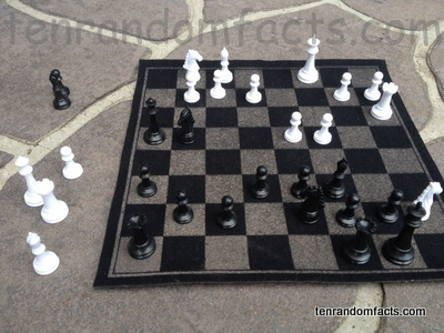 Chess, Board, Game, White, Black, Pieces, Gameplay, Game, Trivia, Ten Random Facts, Invention, Setup, Strategy