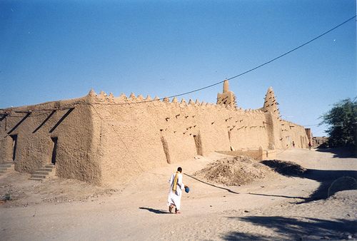 Timbuktu, Sand, Africa, Town, Ten Random Facts, Place, Buildings, Construction, Architecture,  Poor, Third Worlds