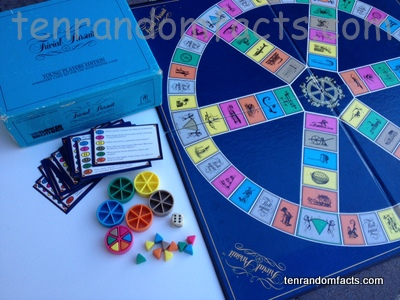 Trivial Pursuit, Trivia, Ten Random Facts, Pursuit, Board, Cards, Pregame
