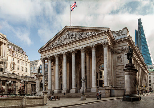 Bank of England, Trivia, Ten Random Facts, Construction, Building, Government, London, Side, Flag