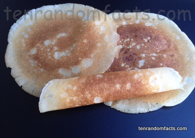 Crepe, Food, Trivia, Ten Random Facts, Culinary, French, Rolled, Cooked, Homemade, Flat