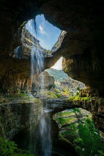 Baatara Gorge Waterfall, Trivia, Ten Random Facts, Water, Lush, Amazing, Landscape, Lebanon, Middle East