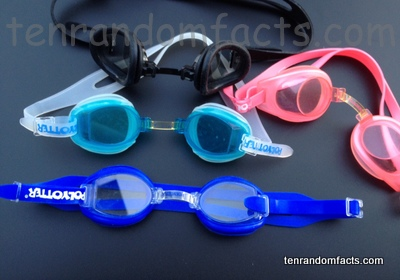 Swimming Goggles, Invention, Trivia, Ten Random Facts, Head, Water,