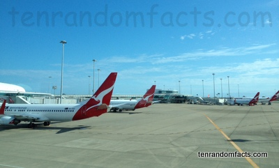 Airport, Trivia, Ten Random Facts, Invention, Place, Port, Aircraft, Aeroplane, Qantas, Australia