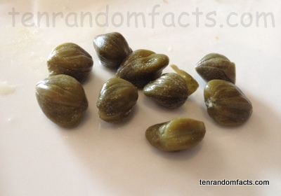 Capers, Vegetable, Trivia, Ten Random Facts, Vegetation, Green, Food, Culinary
