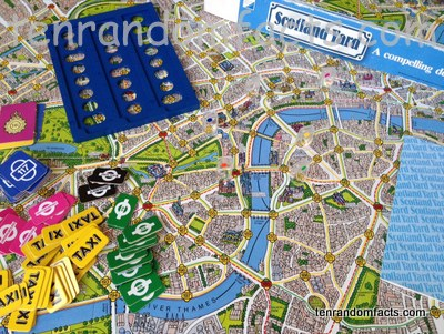 Scotland Yard, Board Game, Set, Equipment, Parker Brothers, Trivia, Ten Random Facts