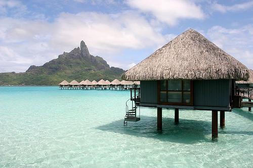 Bora Bora, Trivia, Ten Random Facts, Island, Pacific, Hut, Water, Scene, Beauty, Site, Holiday,