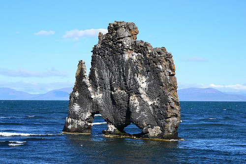 Hvítserkur, Rock, Sea, Ocean, Iceland, Blue, Grey, Trivia, Ten Random Facts