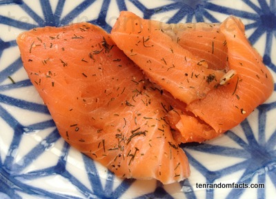 Salmon, Food, Fish, Meat, Flavoured, Prepared, Orange, Pieces, Culinary