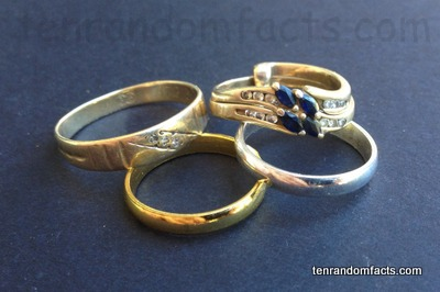 Wedding Ring, Trivia, Invention, Jewelry, Assortment, Band