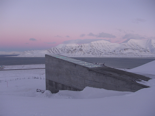 Svalberd Global Seed Vault, Bank, Norway, Place, Storage, Doomsday, Ice, Isolated, Long, Frozen