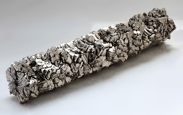 Titanium, Trivia, Ten Random Facts, Element, Material, Metal, Resource, Ti, Crystal Bar