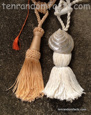 Tassel, Trivia, Ten Random Facts, Invention, Fashion, Gold, White, Vary, Assortment