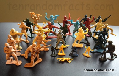 Toy Soldiers, Trivia, Ten Random Facts, Invention, Toy, Pirates, Army, Collection, Plastic