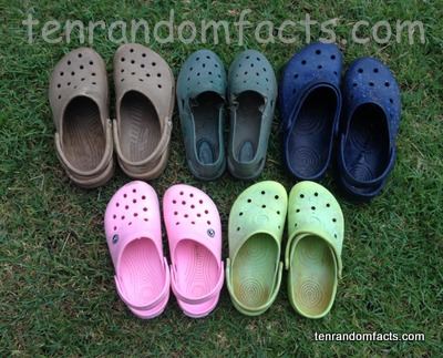 Crocs, Trivia, Ten Random Facts, Footwear, Fashion, Invention, Assortment, Clogs