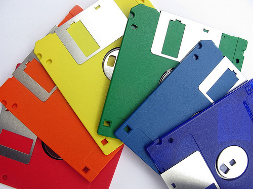 Floppy Disk, Rainbow, Diskette, Trivia, Ten Random Facts, Computer, Storage, Old, IBM