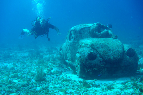 Museo Subacuático de Arte, Trivia, Ten Random Facts, Underwater Museum Cancun, Mexico, Car, Jason deClaire, Place, Art, Sculptures