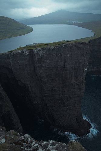 Illusion, Sorvagasvatn, Trivia, Ten Random Facts, Lake, Water, Place, Islands, Atlantic, Illusion