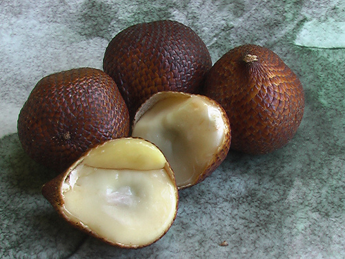 Salak, Trivia, Ten Random Facts, Fruit, Food, Culinary, Brown, Cut, Open