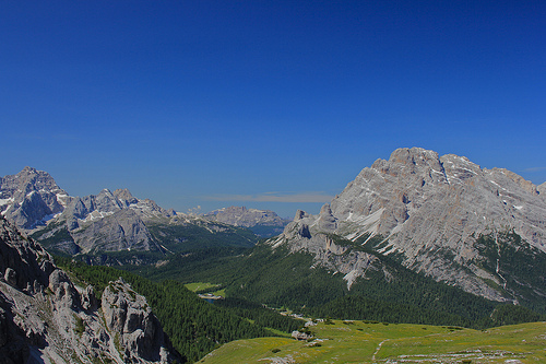 Dolomites, Trivia, Random facts,  Mountain, Blue, Lush, Rock, Contrast, Nature, Earth