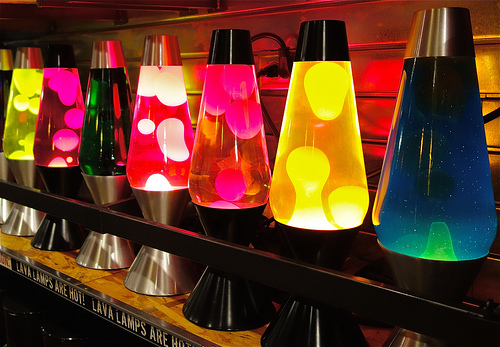 Lava Lamp, Invention, Assorted, Trivia, Random, Facts, Glow, Invention, Novelty, Furnishing, Yellow, Red