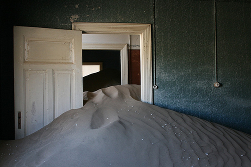 Kolmanskop, Trivia, Ten Random Facts, Place, Africa, Desert, Abandoned, Sandy, Dune, Inside, Ghostly, Eerie