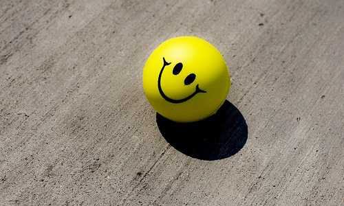 Stress Ball, Trivia, Ten Random Facts, Yellow, Sphere, Toy, Smile, Invention