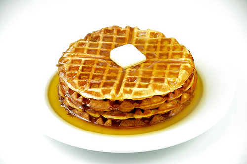 Waffles, Maple Syrup, Stack, Dessert, Food, Breakfast, Trivia, Ten Random Facts, Delicious, Butter