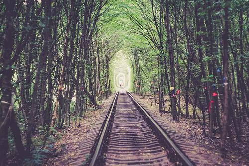 Tunnel of Love, Green, Trivia, Ten Random Facts, Track, Railway, Ukraine,