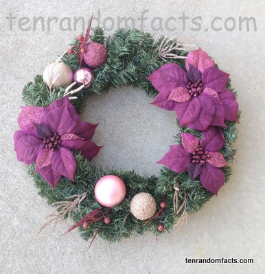 christmas wreath wiki